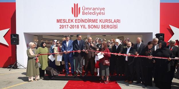 Ümraniye'de Misak-ı Millî Sergisi açılışı yapıldı