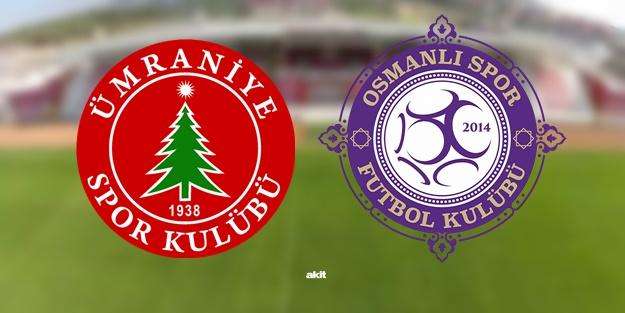 Ümraniyespor Osmanlıspor maçı ne zaman, saat kaçta, hangi kanalda?