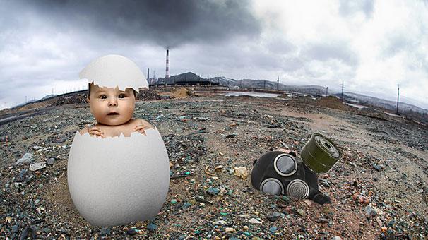 UNICEF: Milyonlarca bebek zehirli hava soluyor