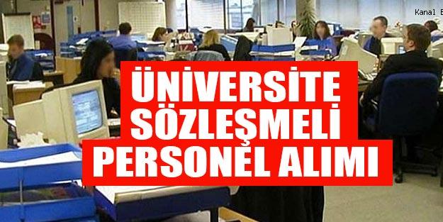 Üniversite sözleşmeli personel alım başvurusu nasıl yapılır? Konya Teknik Üniversitesi alım başvuru şartları