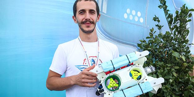 Üniversiteliler yerli 'su altı drone'u yaptı