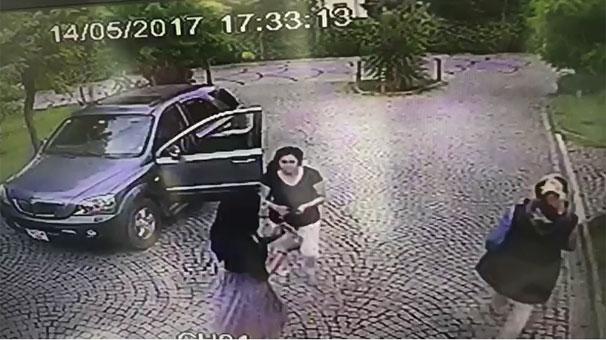 Ünlü futbolcunun eşinin şok eden görüntüsü! 'Tehdit edip, saldırdı'