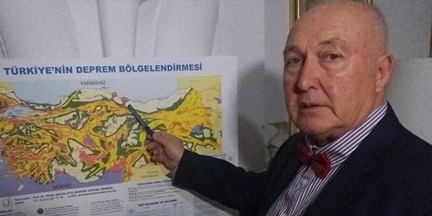 Ünlü profesör Ahmet Ercan, büyük İstanbul depremi için tarih verdi!