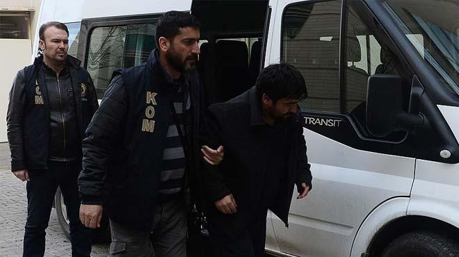 Uşak'taki FETÖ operasyonunda 6 tutuklama