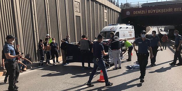 Üst geçitten düştü, bir de kamyon çarptı! 23 yaşındaki gencin feci ölümü