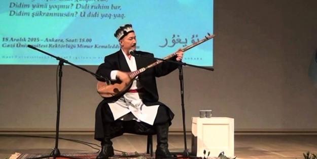 Uygurlu sanatçıya 5 ay hapis cezası!