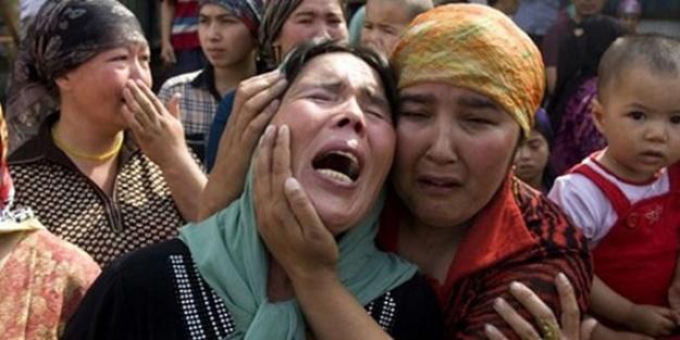Uygur Türklerine korona zulmü