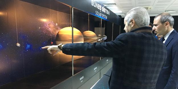 Uzaya giden ilk Müslüman kozmonot ziyaret etti