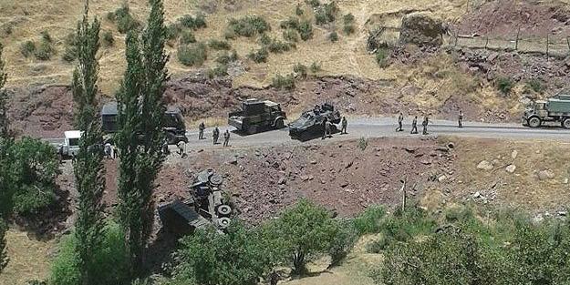 Uzman çavuşlar kaza yaptı: 2 şehit