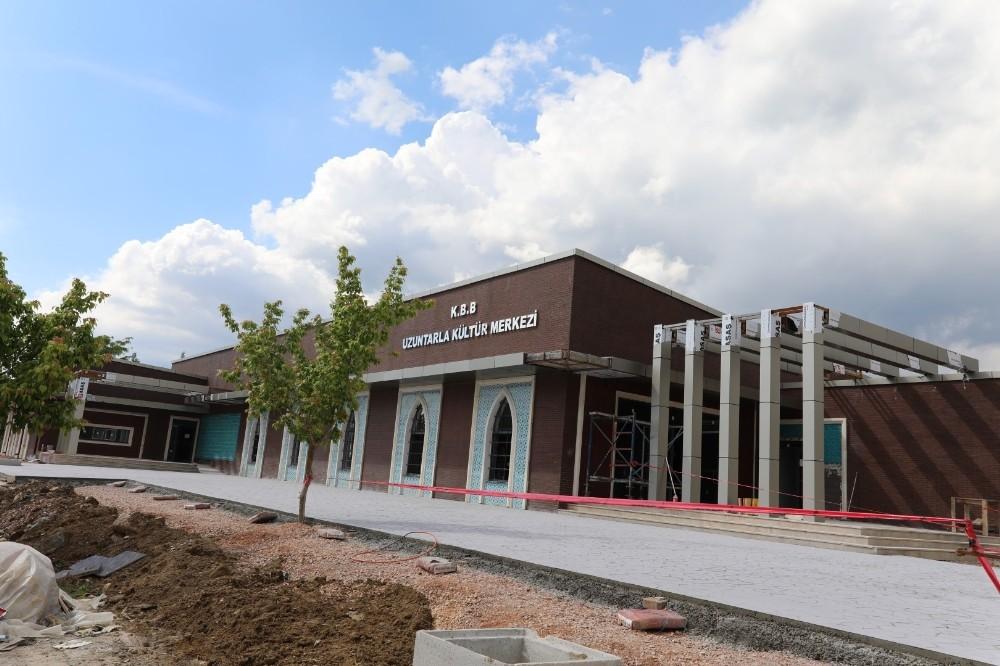 Uzuntarla'nın kültür merkezinde sona yaklaşıldı