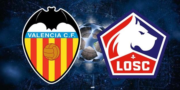 Valencia Lille maçı ne zaman saat kaçta hangi kanalda?