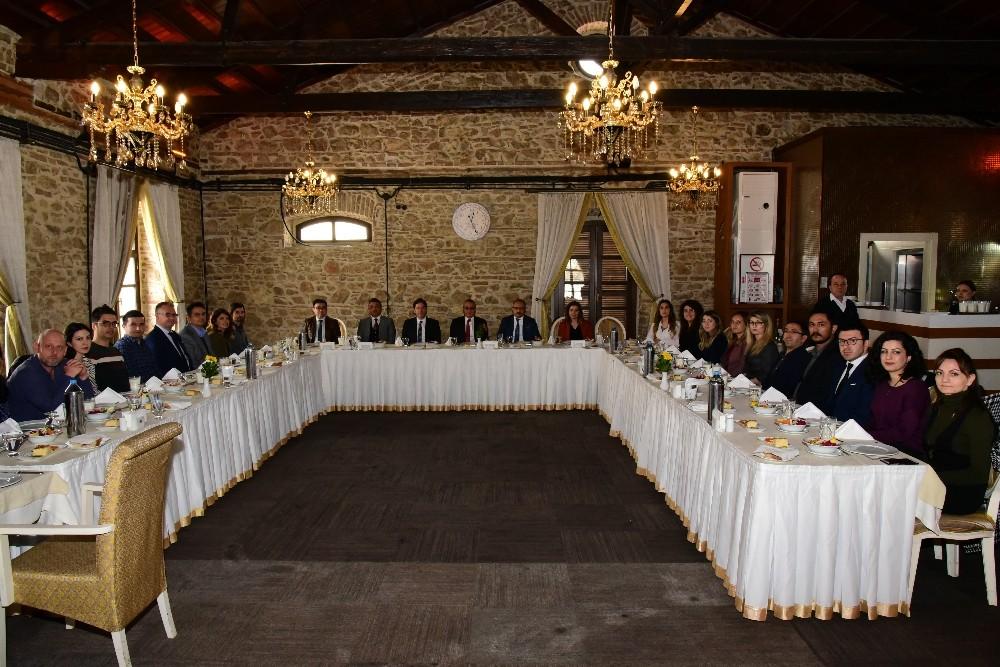 Vali Deniz, Avrupa Birliği ve Proje Ofisi çalışanlarıyla buluştu