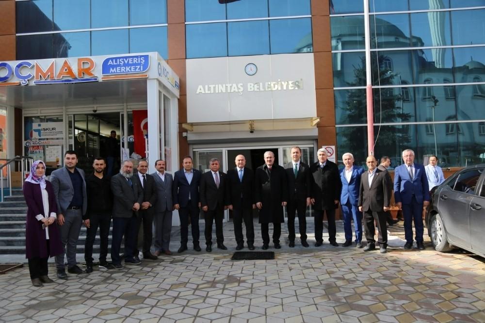 Vali Toraman, Altıntaş Zafer OSB Toplantısı'na katıldı
