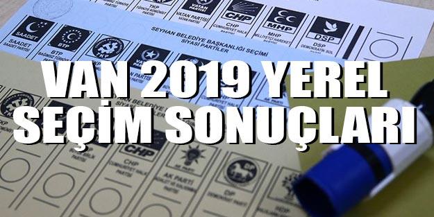 Van seçim sonuçları 2019 son dakika 31 Mart Van yerel seçim sonuçları AK Parti HDP oy oranları