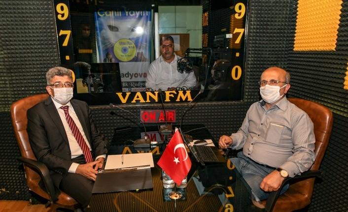 Van Valisi Bilmez'den Başkale depremzedelerine önemli uyarı