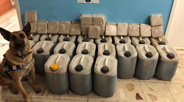 Van'da 437 kilo uyuşturucu ele geçirildi!