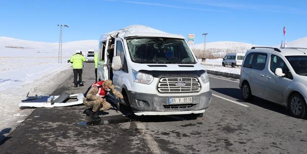 Van'da kaza! Çok sayıda yaralı var