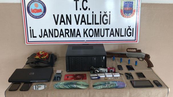 Van'da terör operasyonu: 9 kişi gözaltında
