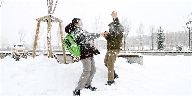 Van'da yarın okullar tatil mi? Van 15 Ocak Salı kar tatili son dakika