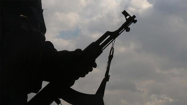 Van'ın Erciş ilçesinde bir terörist teslim oldu