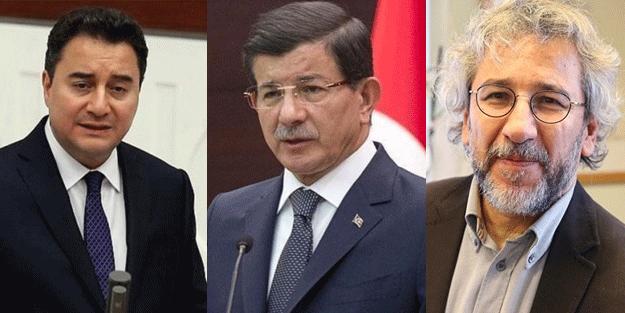 Vatan haini Can Dündar, beklentisini açıkladı: Ahmet Davutoğlu ve Ali Babacan...