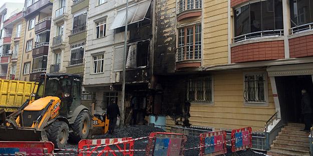 İstanbul'da yol çalışmasında facianın eşiğinden dönüldü