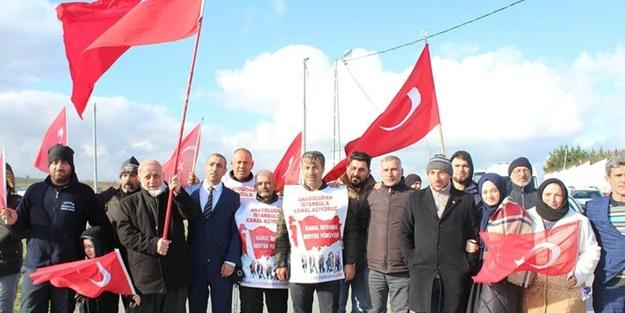 Vatandaşlardan Kanal İstanbul'a tam destek