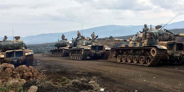 Ve Mehmetçik Fırat'ın doğusunda operasyona başladı! Türk askeri sınırı geçti