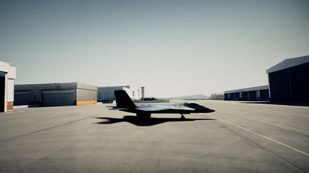 Ve yayınlandı! İşte milli savaş uçağı TF-X