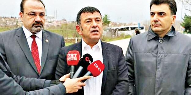 Veli Ağbaba'dan Silivri provokasyonu