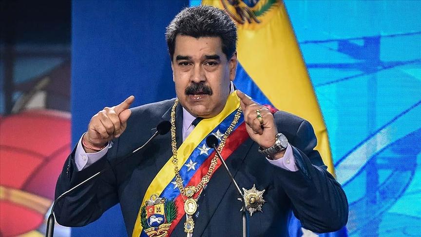 Venezuela Devlet Başkanı Maduro, muhalefetle diyaloğun ABD yüzünden kesildiğini söyledi