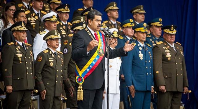 Venezuela Devlet Başkanı Nicolas Maduro'ya suikast girişimi