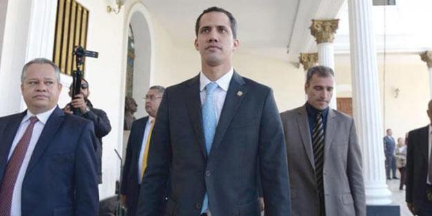 Venezuela harekete geçti! Kukla Guaido'ya büyük şok