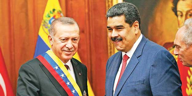 Venezuela ile 10 anlaşmaya imza atıldı