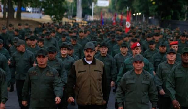 Venezuela'da kritik gelişme! Dikkat çeken askeri hareketlilik