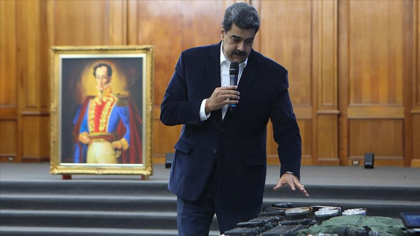 Venezuela'da yakalanan ABD'lilerin amacı Maduro'yu kaçırmakmış