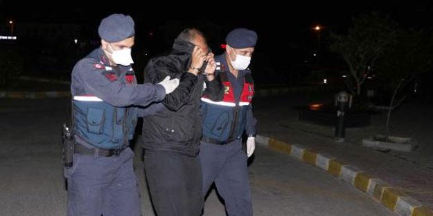 Villada iki kişiyi öldüren cani tutuklandı