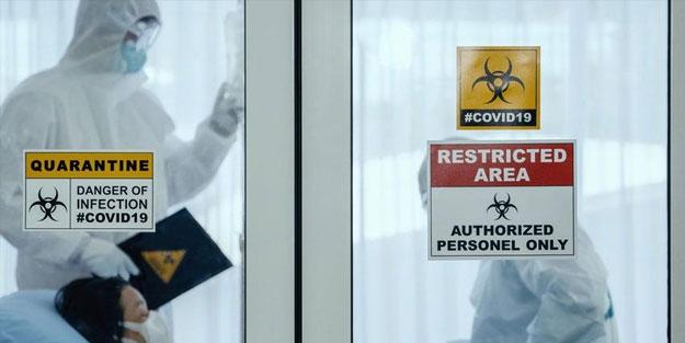 Virüs ABD'yi dört bir yandan sardı