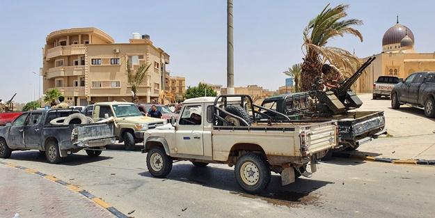 Vişke beldesini ele geçiren Libya ordusu Sirte kentine ilerliyor