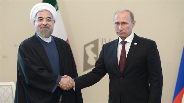 Vladimir Putin'den Ruhani'ye tebrik mesajı