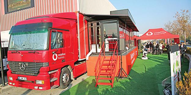 Vodafone Business Dijitalleşme Tır'ı Ankara'da