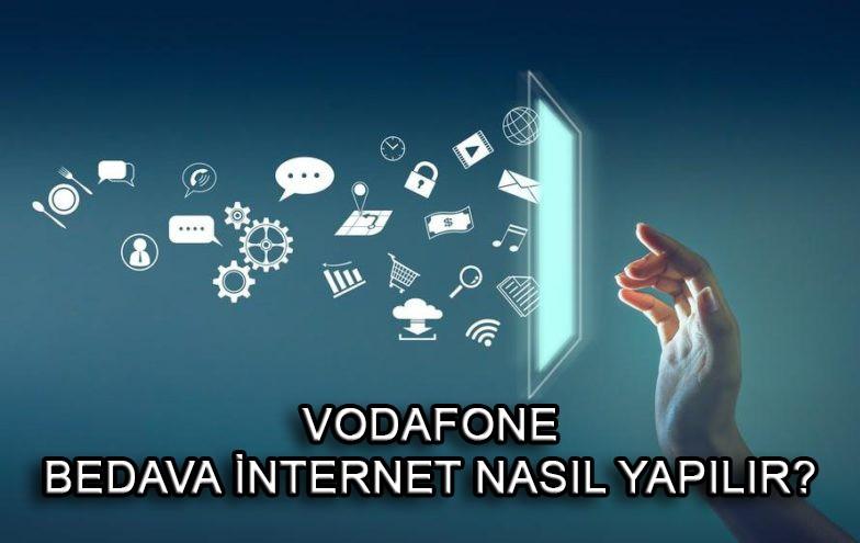 Vodofone uzaktan eğitim 3 GB ücretsiz internet nasıl alınır?