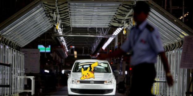 Volkswagen'dan Pokémon Go'ya yasak