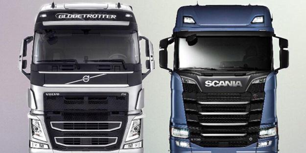 Rusya detayını dünyaya duyurdular! Volvo ve Scania'da görülmemiş olay