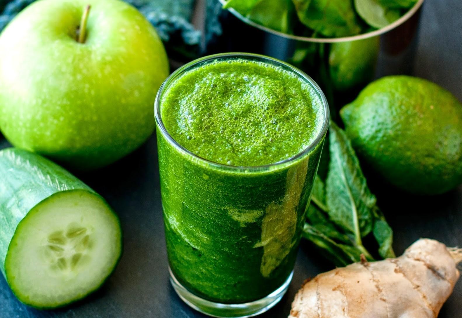 Vücudunuzu green juice ile arındırın