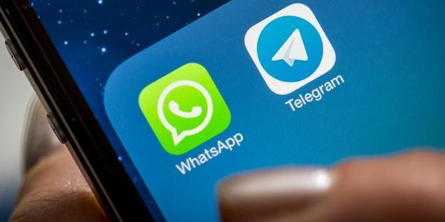 Yok böyle kavga! WhatsApp ve Telegram birbirine girdi