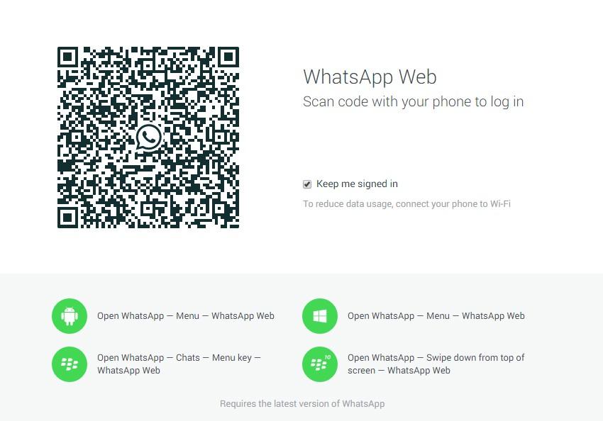 whatsapp web masaüstü nasıl kullanılır