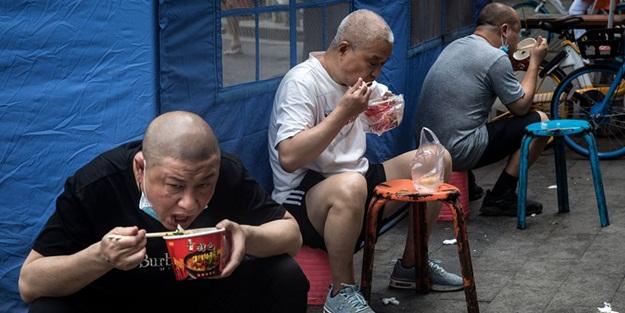Wuhan'dan 110 gün sonra dikkat çeken görüntü