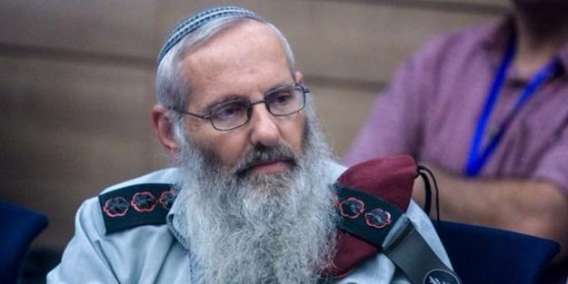 'Yahudi olmayana tecavüz edebilirsiniz' diyen alçak, hahambaşı adayı oldu
