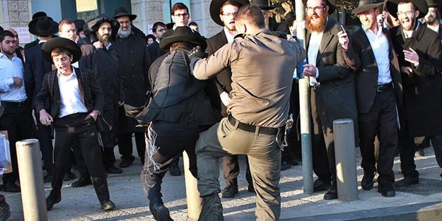 Yahudiler birbirine girdi! Sokaklara çıkıyorlar...